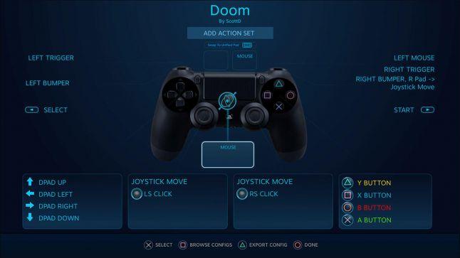Steam : Le pavé tactile et la gyroscopie de la manette PS4 bientôt compatibles