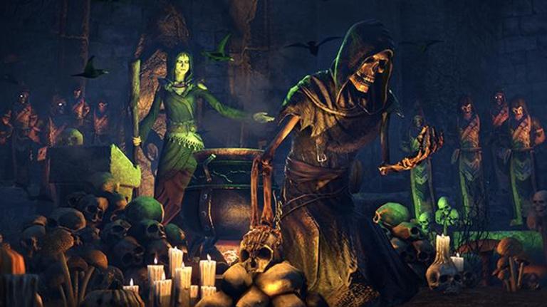 The Elder Scrolls Online fête aussi Halloween avec le Festival des Sorcières