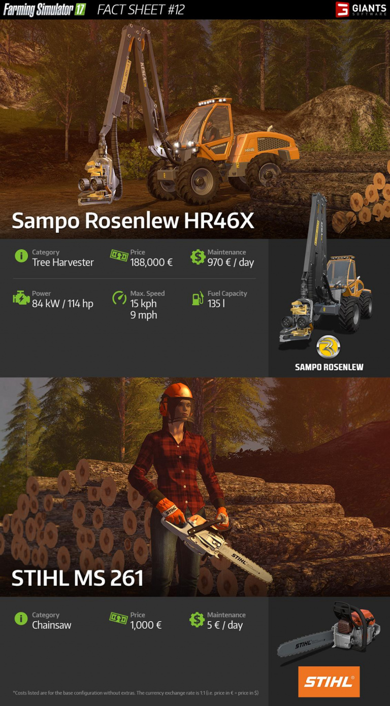 sampo rosenlew hr46x stihl ms 261 astuces et guides farming simulator 17. Black Bedroom Furniture Sets. Home Design Ideas