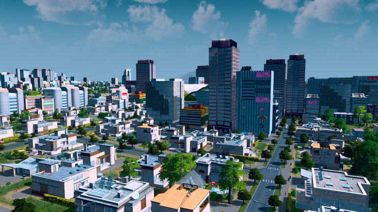 Cities Skylines vous invite au stade