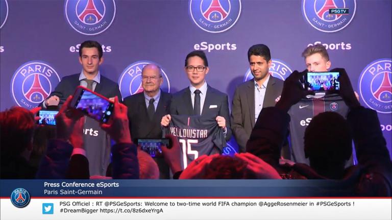 Le Paris-Saint-Germain détaille son entrée dans l'e-sport