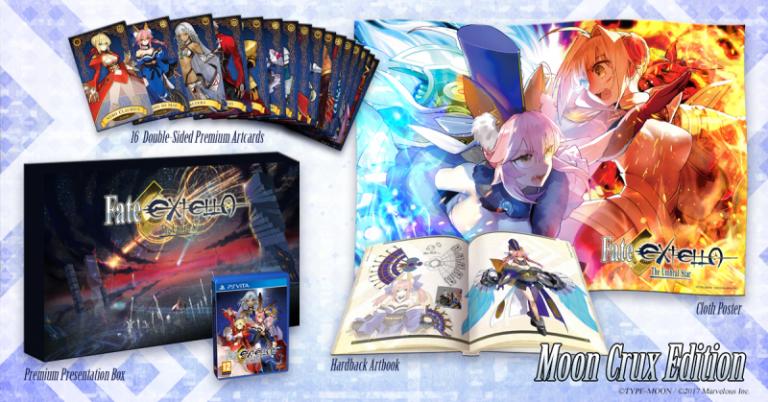 Fate/Extella : The Umbral Star : collector européen et nouveau trailer
