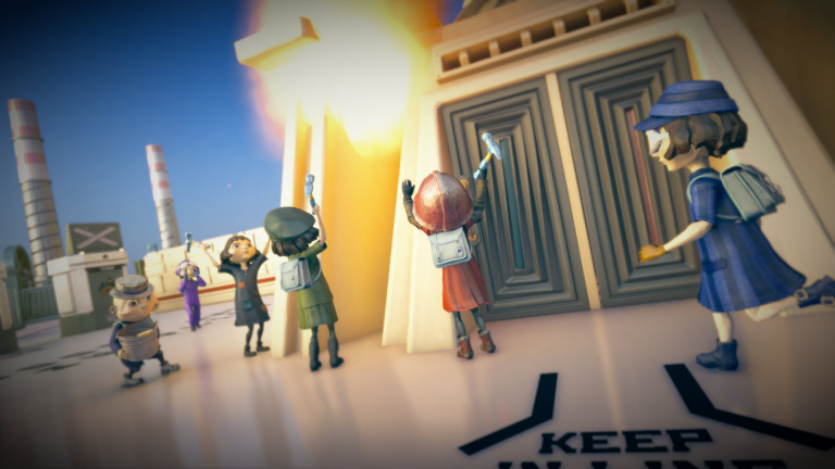 The Tomorrow Children passe free-to-play