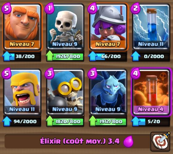 Deck m ta ar ne 5 g ant poison astuces et guide for Deck arene 5 miroir