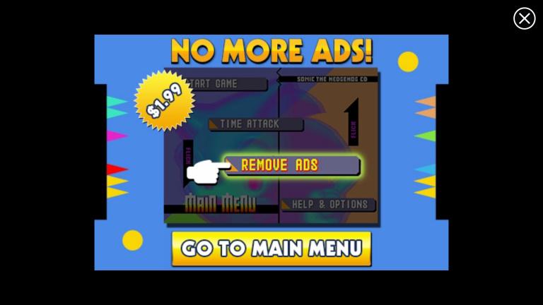 Sonic CD gratuit sur mobiles, des pubs pour tous