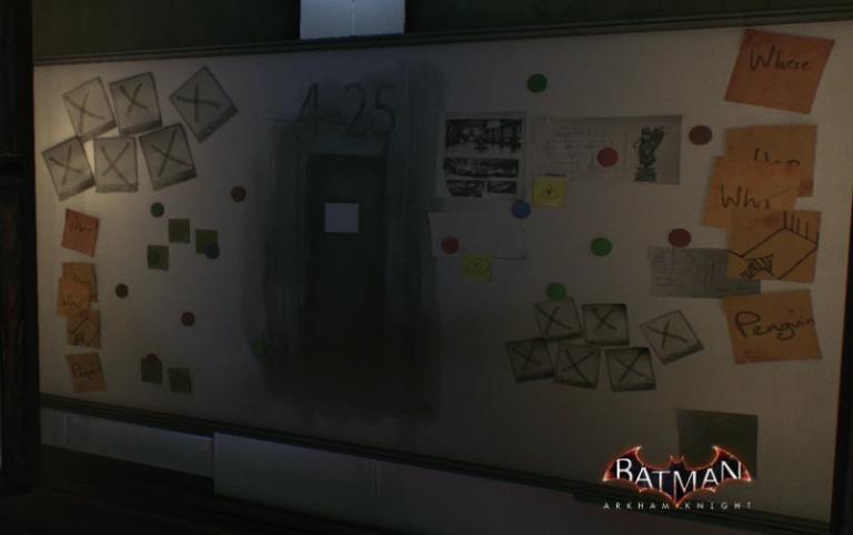 A quoi sert le mystérieux mur dans le manoir des Wayne