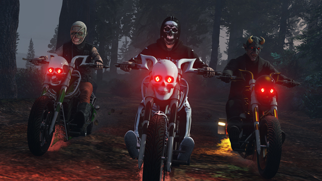 GTA V Online se met lui aussi aux couleurs d'Halloween