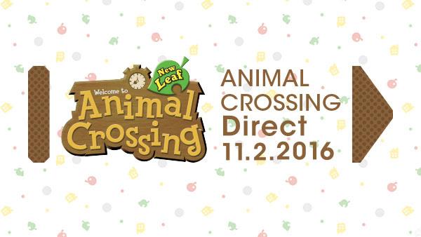 Animal Crossing New Leaf : un Nintendo Direct sera diffusé demain
