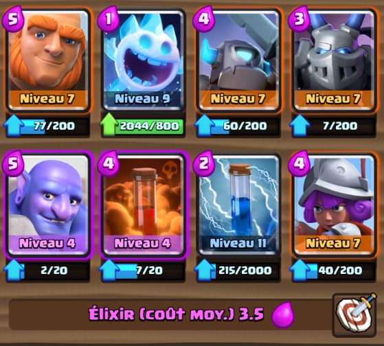 Deck m ta ar ne 8 g ant bouliste astuces et guide for Clash royale meilleur deck arene 7
