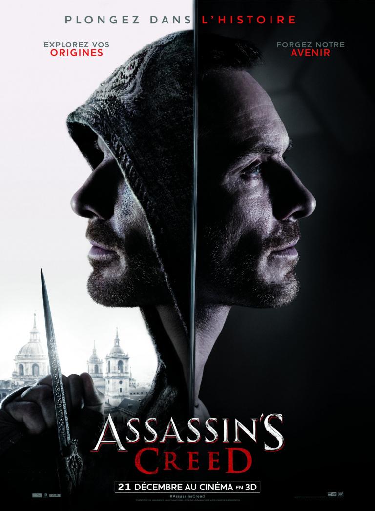 Assassin's Creed, le film : l'affiche officielle se dévoile