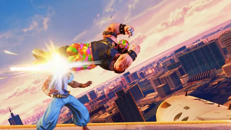 Street Fighter V prend son envol avec une nouvelle map