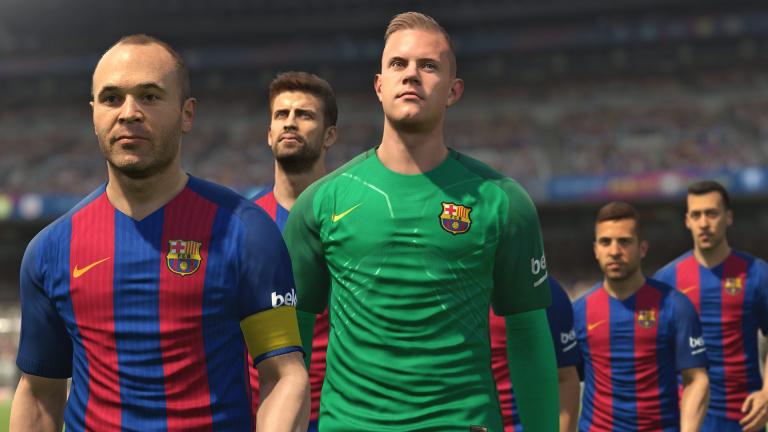 PES 2017 : le patch PS4 Pro est repoussé jusqu'en mi-décembre
