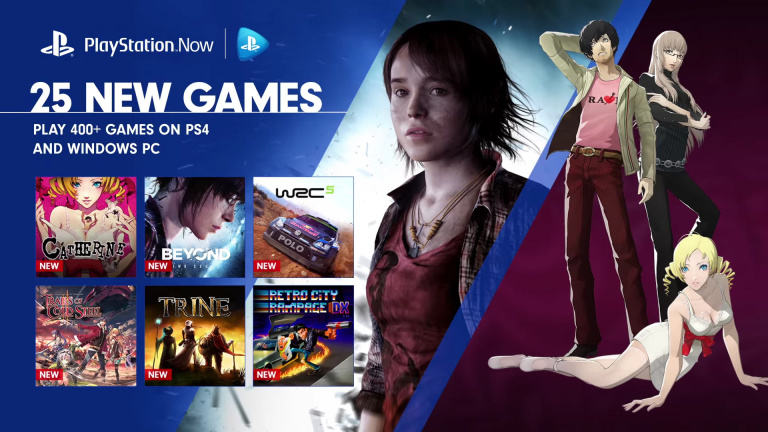 Le PlayStation Now ajoute 25 jeux à son catalogue