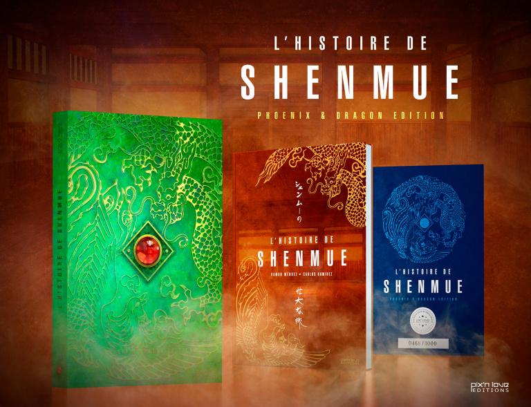 L'Histoire de Shenmue aux Éditions Pix'n Love