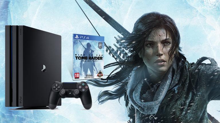 Concours : Une PS4 Pro et le jeu Rise of the Tomb Raider à gagner !