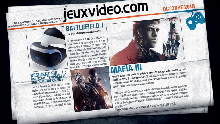 Les infos qu'il ne fallait pas manquer hier : FFXV, PS4 Pro, Overwatch