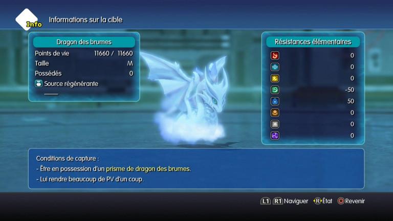 Dragon des brumes