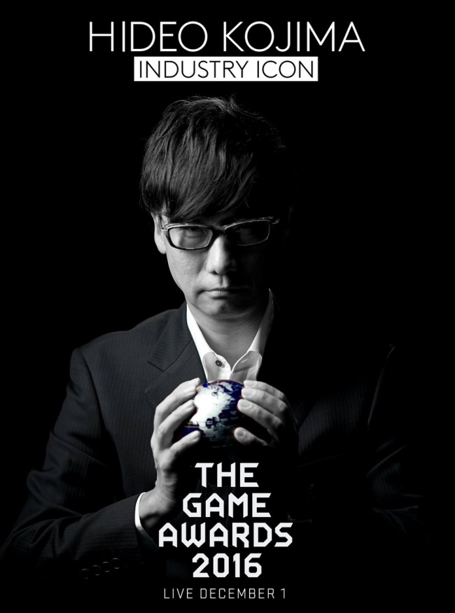 Game Awards : Hideo Kojima récupérera finalement son prix pour MGS V