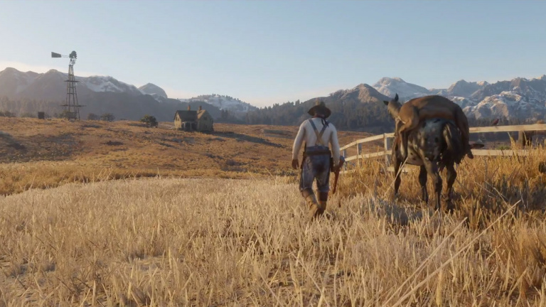 """Red Dead Redemption 2 : pour Take-Two, le jeu est """"renversant"""""""