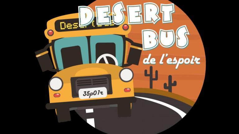 Desert Bus de l'Espoir : 40.000 € récoltés, un nouveau record