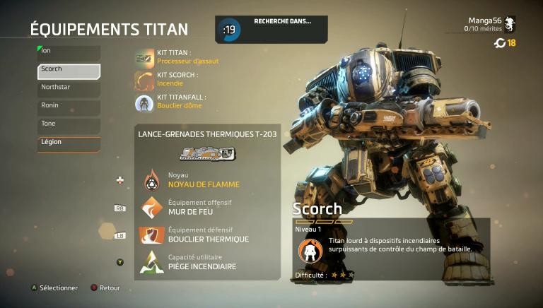 Maîtriser le Titan Scorch