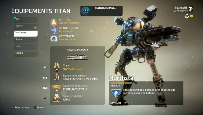 Maîtriser le Titan Northstar
