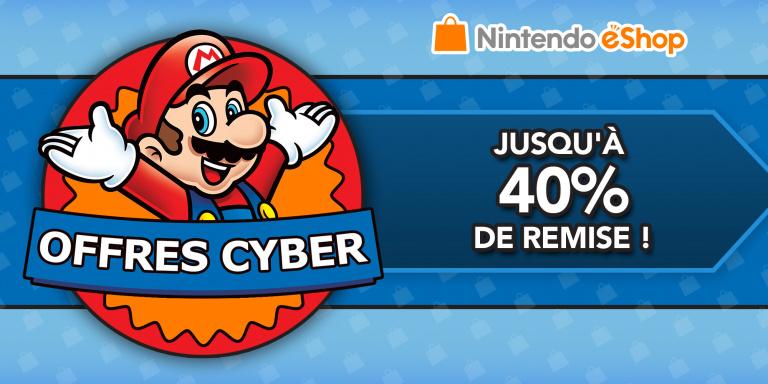 Black Friday : Les offres Cyber du Nintendo eShop