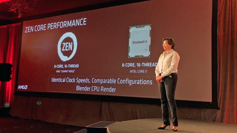AMD laisse échapper quelques tarifs et fréquences sur ses processeurs Zen