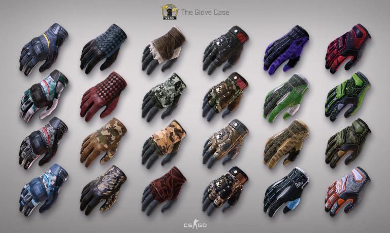 Counter-Strike : Global Offensive lance les skins de gants