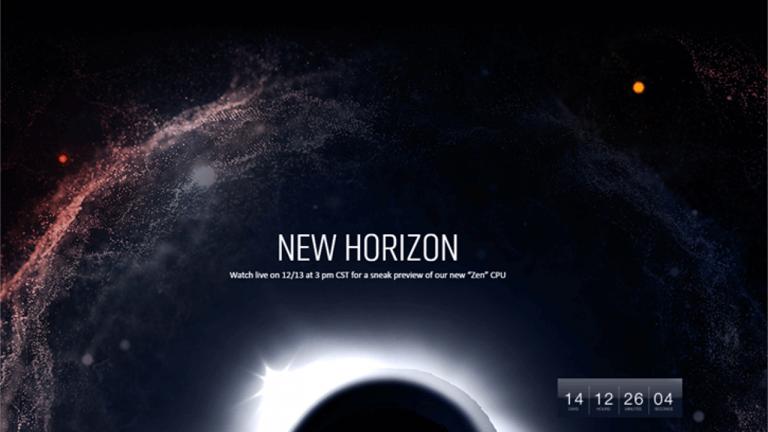 AMD annonce New Horizon, un live exclusif concernant ses CPU Zen