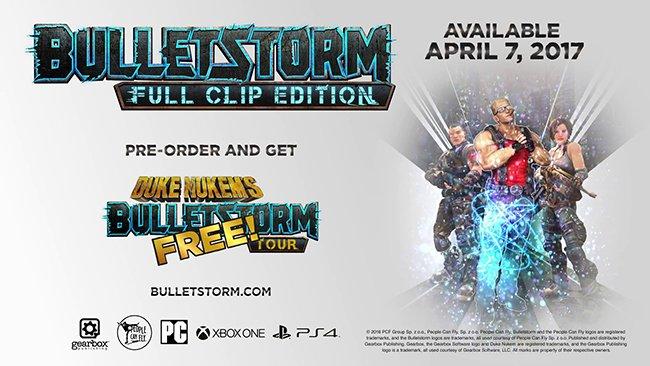 Bulletstorm : l'édition remasterisée se confirme sur PC, PS4 et One