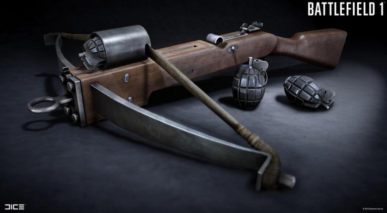 Une arbalète lance-grenade leaké !