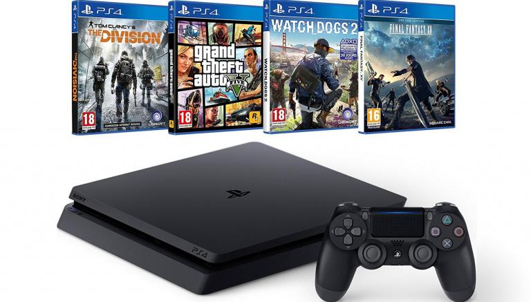 Promo : Des Pack PS4 sur Amazon et une Wootbox de Noël