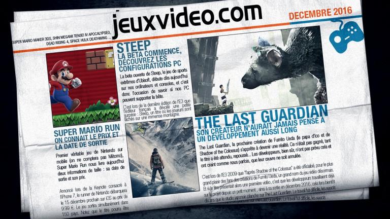 Aujourd'hui sur Jeuxvideo.com : L'histoire de Spyro, Dishonored 2 joué par ses développeurs