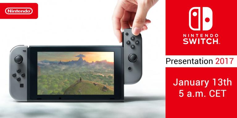 Nintendo Switch : la présentation de janvier précisée
