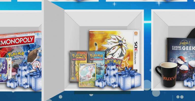 Pokémon Soleil sur 3DS et cartes Pokémon à gagner dans notre calendrier de l'Avent !