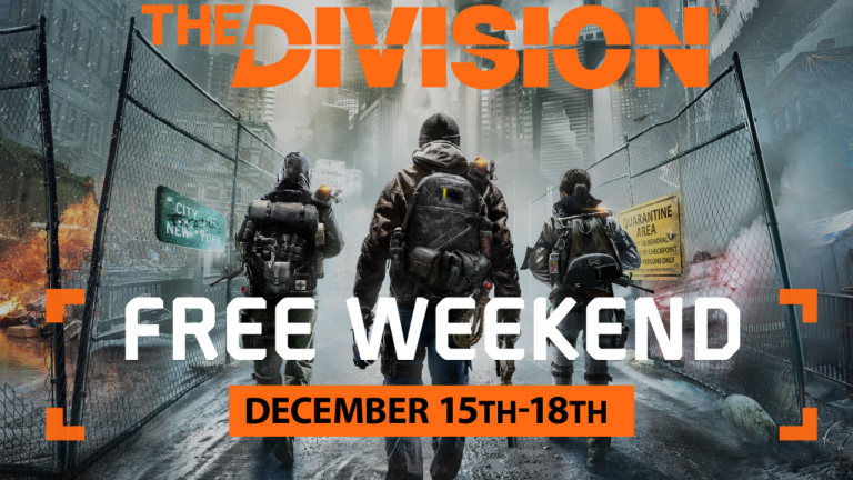The Division : La version PC gratuite ce week end