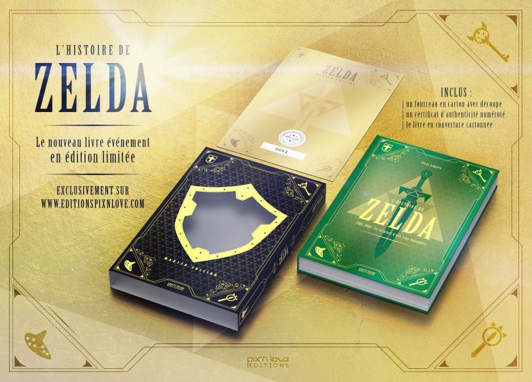 [MAJ] L'Histoire de Zelda vol. 1 aux Éditions Pix'n Love