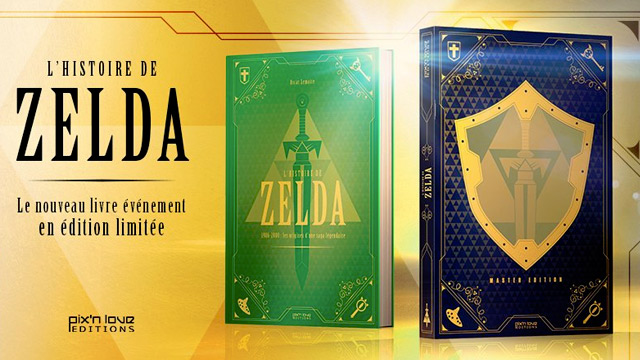 L'Histoire de Zelda vol. 1 aux Éditions Pix'n Love