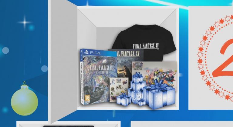 Final Fantasy 15 sur PS4 à gagner dans notre calendrier de l'Avent !