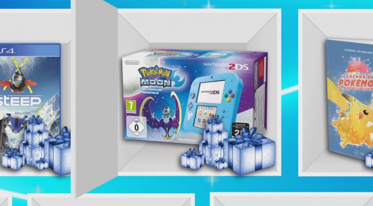 Une 2DS avec Pokémon Lune à gagner dans notre calendrier de l'Avent !
