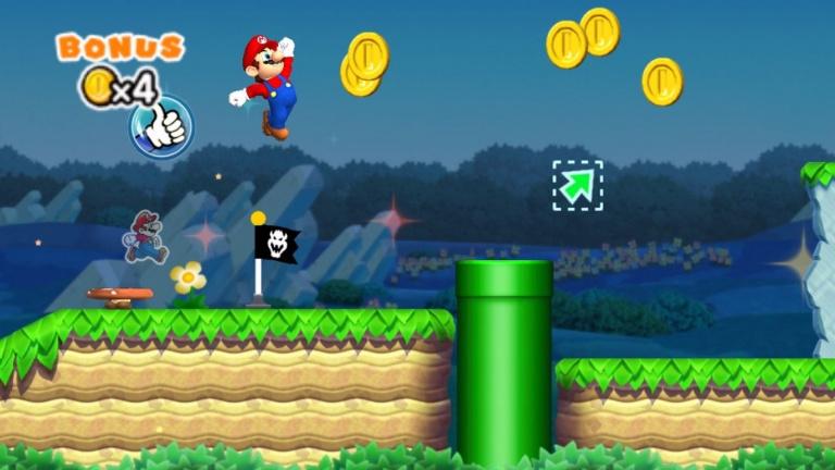 Super Mario Run est de sortie, l'action de Nintendo tressaille