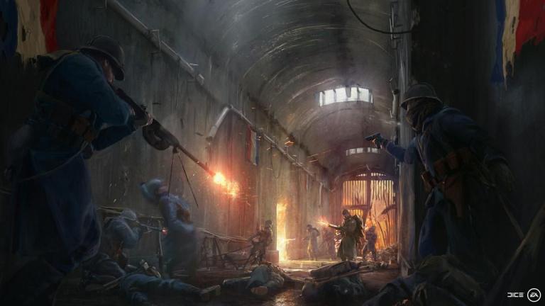 Battlefield 1 : DICE tease l'arrivée de l'armée française