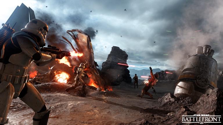 EA confirme l'aspect solo de Star Wars Battlefront 2