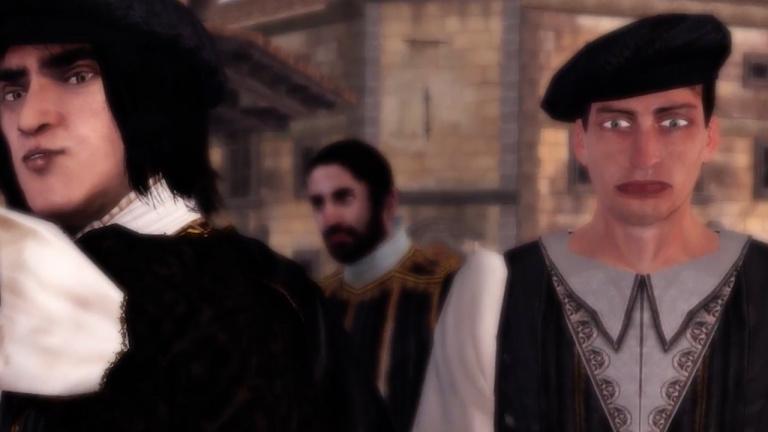 Assassin's Creed : The Ezio Collection : le PNJ bizarre prend sa retraite