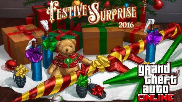 GTA Online se met lui aussi aux couleurs de Noël