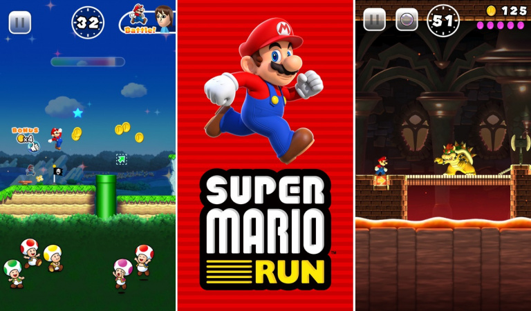 Super Mario Run : 40 millions de téléchargements et un nouveau mode de jeu