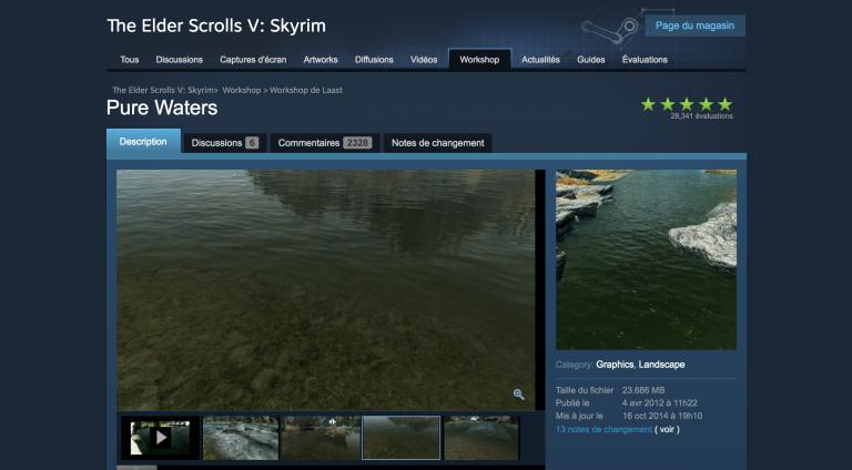 Où trouver des mods pour Skyrim