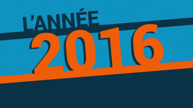 L'année 2016 vue par la rédaction