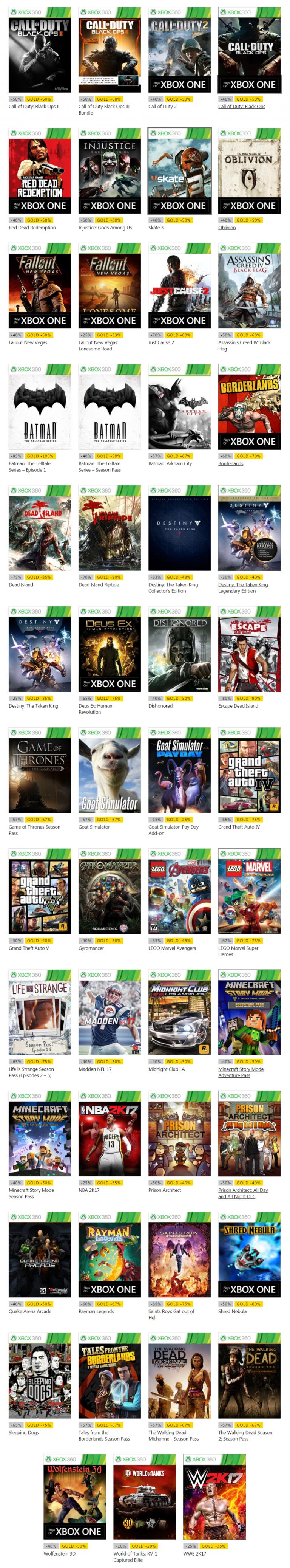 Marché Xbox Live : C'est parti pour les offres de Noël